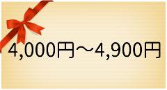 ギフト4000円台